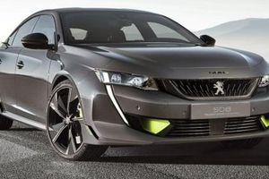 Peugeot gây bất ngờ khi tung ra bản thể thao của mẫu sedan 508