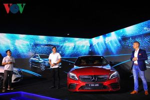 Mercedes-Benz C-Class 2019 có giá từ 1,49 tỉ đồng tại Việt Nam
