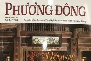 Tạp chí Phương Đông chính thức ra mắt