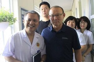 Bộ Y tế mời HLV Park Hang-seo làm đại sứ thiện chí chương trình 'Sức khỏe Việt Nam'
