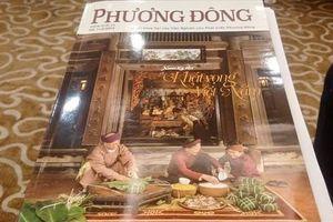 Thượng tướng Nguyễn Văn Hưởng ra mắt Tạp chí Phương Đông