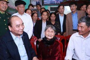 Nghệ An: Thủ tướng Chính phủ Nguyễn Xuân Phúc thăm Mẹ Việt Nam Anh hùng