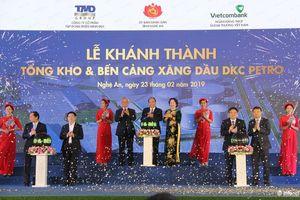 Khánh thành Tổng kho xăng dầu lớn nhất Bắc miền Trung