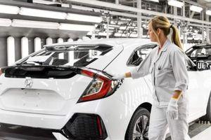 Honda sẽ đóng cửa nhà máy sản xuất Civic tại Anh vào năm 2021