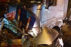 Chương Mỹ: Xe đầu kéo mất lái gây tai nạn khiến 1 người tử vong