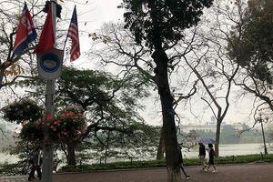 Hà Nội: Phố phường trang hoàng rực rỡ đón Hội nghị Thượng đỉnh Mỹ - Triều