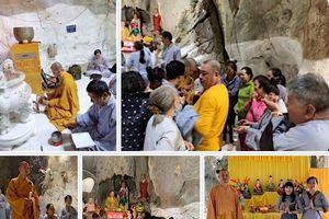 Hội chúng đạo tràng Kim Cang TP. Hồ Chí Minh thực hiện chuyến hành hương đầu năm