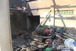 Nghi nổ bình gas tại nhà một người dân khiến 4 người bị thương nặng