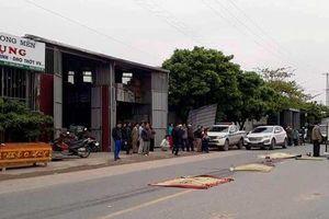 Hưng Yên: Xe máy va chạm ô tô, một người tử vong