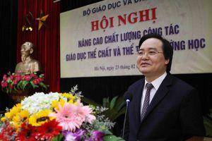Bộ trưởng Phùng Xuân Nhạ: Bỏ tư duy giáo dục thể chất là môn phụ