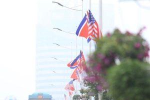 Hà Nội: Rợp cờ hoa chào đón Hội nghị Thượng đỉnh Mỹ-Triều