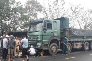 Tai nạn giao thông, một chiến sĩ công an tử vong