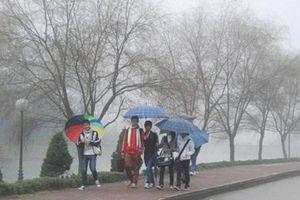 Thời tiết hôm nay: Hà Nội mưa phùn và rét, nhiệt độ cao nhất 20 độ C