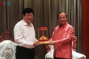 Tăng cường hợp tác giữa Đài TNVN và Đài Phát thanh Quốc gia Lào