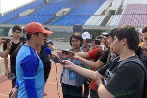 HLV Nguyễn Quốc Tuấn: 'Trọng tài đã điều khiển trận đấu không tốt'