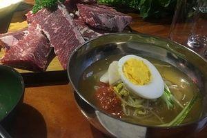Món mì yêu thích của Triều Tiên xuất hiện trong thực đơn một nhà hàng ở Hà Nội