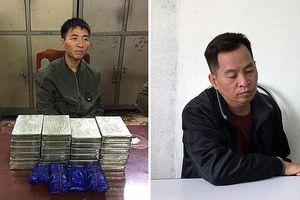 Người đàn ông mang 24 bánh heroin và 6.000 viên ma túy trong balo