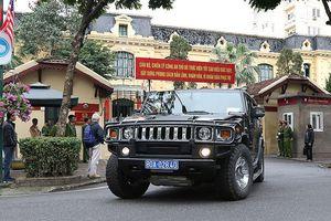 Xe Hummer, bọc thép xuất quân bảo vệ Hội nghị thượng đỉnh Mỹ - Triều
