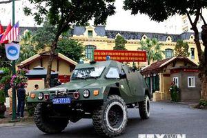 Công an Hà Nội ra quân bảo vệ an ninh cho thượng đỉnh Mỹ-Triều
