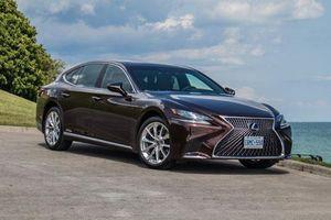 Cận cảnh Lexus LS500h 2019, giá 8,75 tỷ đồng tại Việt Nam