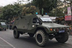 Xe Hummer, Ram bọc thép xuất quân bảo vệ Hội nghị Thượng đỉnh Mỹ- Triều