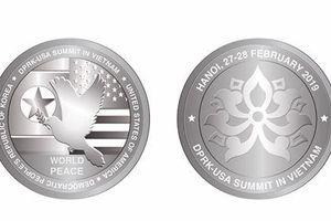 Những đồng xu kỷ niệm cuộc gặp Mỹ-Triều lần thứ 2