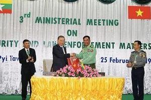 Việt Nam - Myanmar tăng cường hợp tác phòng, chống tội phạm