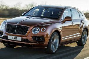 Bentley ra mắt SUV nhanh nhất thế giới - Bentayga Speed