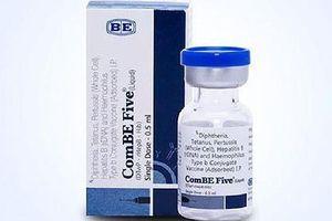Một trẻ tử vong sau khi tiêm vaccine ComBe Five