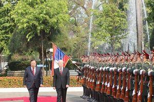 Tổng bí thư, Chủ tịch nước Nguyễn Phú Trọng về tới Hà Nội