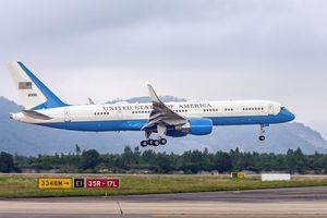 Chuyên cơ chở Ngoại trưởng Mỹ dự Hội nghị thượng đỉnh Mỹ - Triều Tiên hạ cánh sân bay Nội Bài