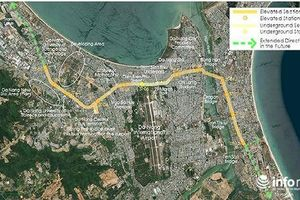 Đà Nẵng: Nhật Bản đề xuất xây dựng hệ thống vận chuyển khách tự động dài 14km