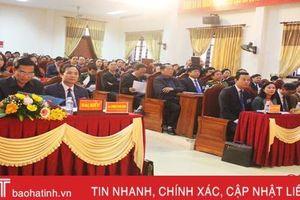 Phát huy quyền làm chủ của nhân dân trong việc tham gia xây dựng Đảng, chính quyền ở Lộc Hà