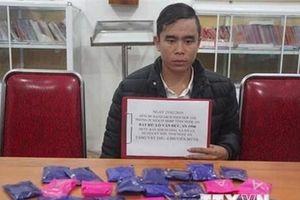 Nghệ An bắt đối tượng mua bán 4.800 viên ma túy tổng hợp tại biên giới