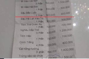 Phạt nhà hàng ăn uống 'chặt chém' khách du lịch 27,5 triệu đồng
