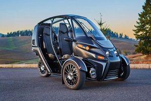 Cận cảnh xe điện 3 bánh Arcimoto FUV giá 461 triệu đồng