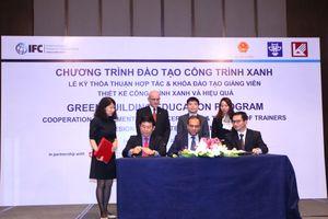 IFC hỗ trợ nâng cao năng lực đào tạo để thúc đẩy phát triển công trình xanh tại Việt Nam
