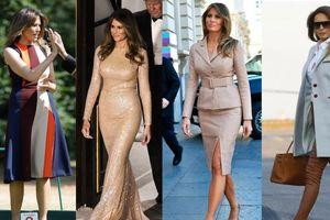Phong thái ngoại giao và gu thời trang của 2 đệ nhất phu nhân Mỹ - Triều
