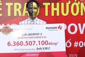 Lần thứ hai mua Vietlott, người đàn ông 'ẵm' giải 6,3 tỉ đồng