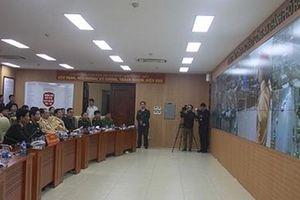 Kiểm tra công tác phục vụ Hội nghị Thượng đỉnh Mỹ - Triều tại Phòng CSGT Hà Nội