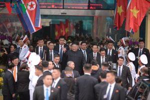 Những 'cánh tay đắc lực' tháp tùng lãnh đạo Kim Jong-un đến Hà Nội