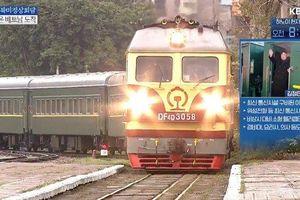Đoàn tàu chở ông Kim Jong-un đã tới ga Đồng Đăng, Lạng Sơn