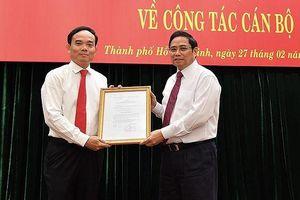 Bí thư Tây Ninh Trần Lưu Quang làm Phó Bí thư Thường trực Thành ủy TP.HCM