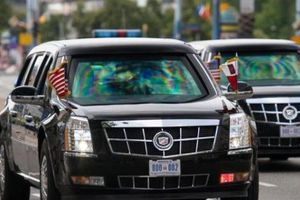 Infographic: Ngóc ngách siêu xe 'Quái thú' của Tổng thống Trump