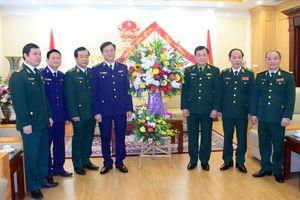 Phó Chủ tịch, Tổng Thư ký Ủy ban Mặt trận Tổ quốc Việt Nam chúc mừng 60 năm Ngày Truyền thống BĐBP