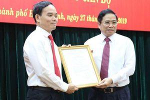 Công bố quyết định Bí thư Tỉnh ủy Tây Ninh thay ông Tất Thành Cang