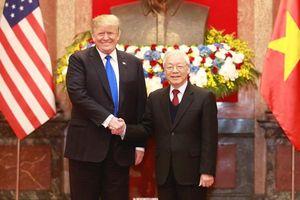 Tổng Bí thư, Chủ tịch nước Nguyễn Phú Trọng tiếp Tổng thống Trump
