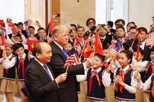 Tổng thống Donald Trump hội kiến Thủ tướng Nguyễn Xuân Phúc