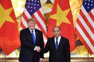 Tổng thống Trump hội kiến Thủ tướng Nguyễn Xuân Phúc