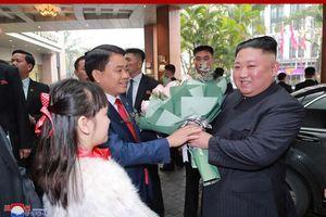 Truyền thông Triều Tiên đưa tin rầm rộ về chuyến đi của ông Kim tới Hà Nội